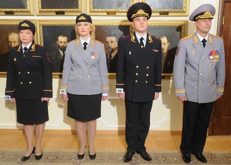 Новая форма полиции пилотка